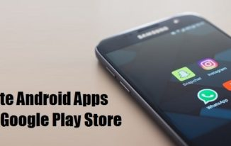 How to update android Apps from Google Play Store