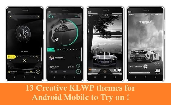 24 Creative KLWP themes for Android Mobile to Try on ! – Android Themes