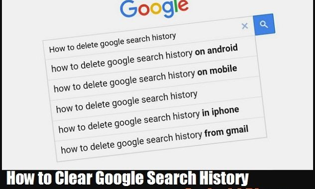 How to Clear Google Search History on Android Phone