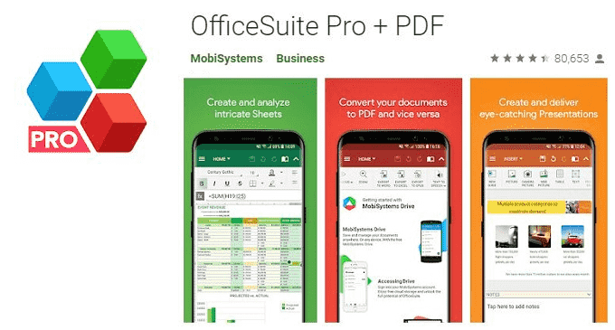 OfficeSuite Pro Apk Free Download For Android
