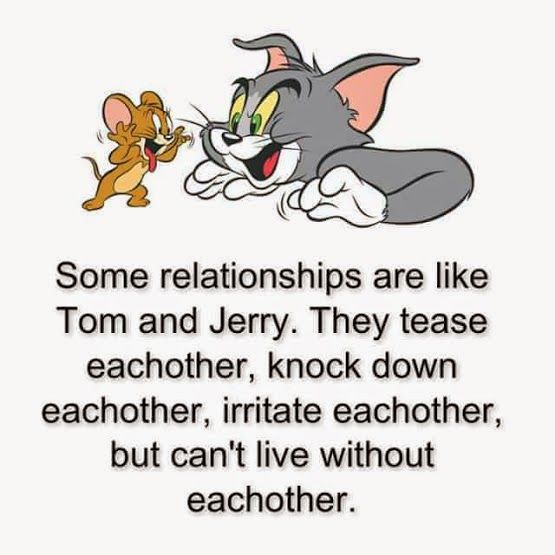 tom & Jerry | quotes | Captions for Couple