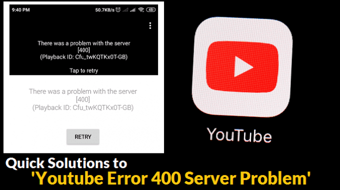[Fix] 7 Quick Solutions to 'Youtube Error 400 Server Problem'
