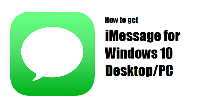 iMessage for Windows | Download iMessage for Windows Desktop Online | iMessage download for PC
