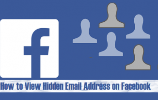 How to View Hidden Email Address on Facebook